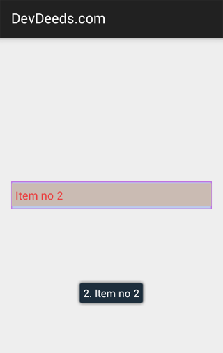 Create custom spinner in Android