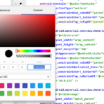 How To Add Custom Color To Views In XML – Android Studio IDE